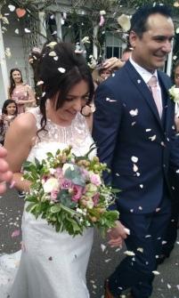 Sarah wedding confetti