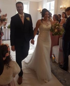 Sarah wedding dress