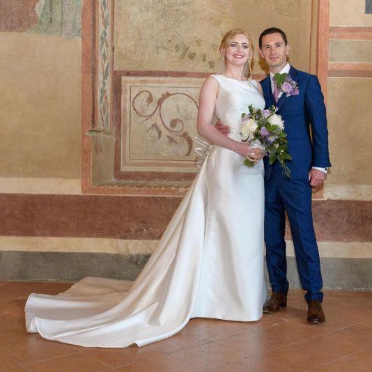 Ruth wedding day
